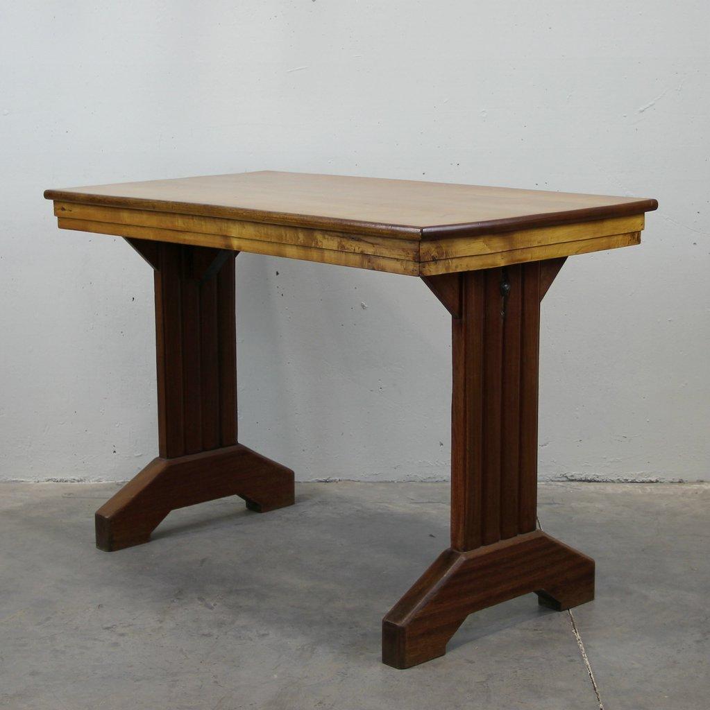 Table de bar bistro antique en vente sur pamono for Table de vente