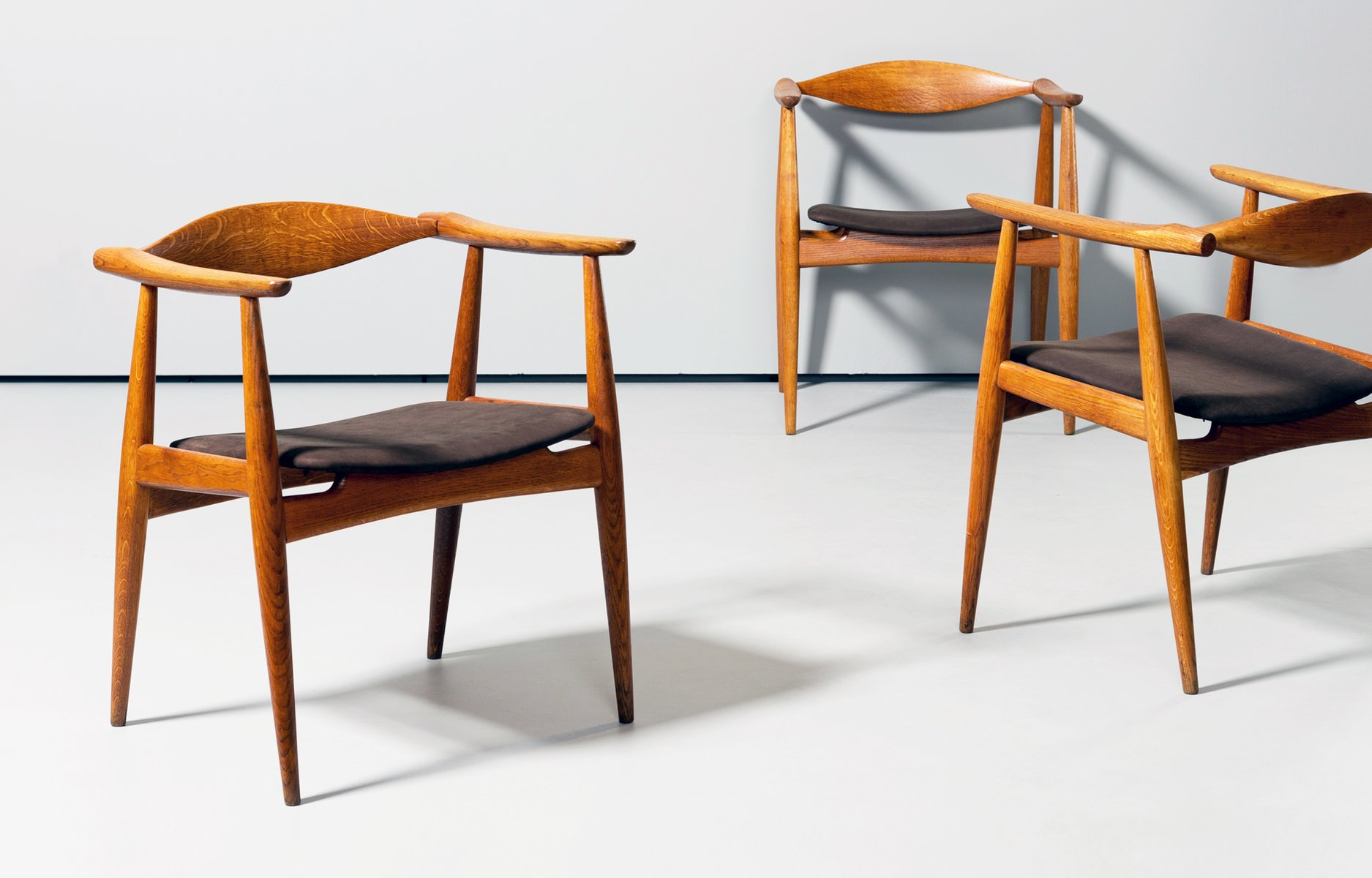 carl hansen chairs. CH35 Dining Chairs By Hans J. Wegner For Carl Hansen, 1960s, Set Of 6 Hansen
