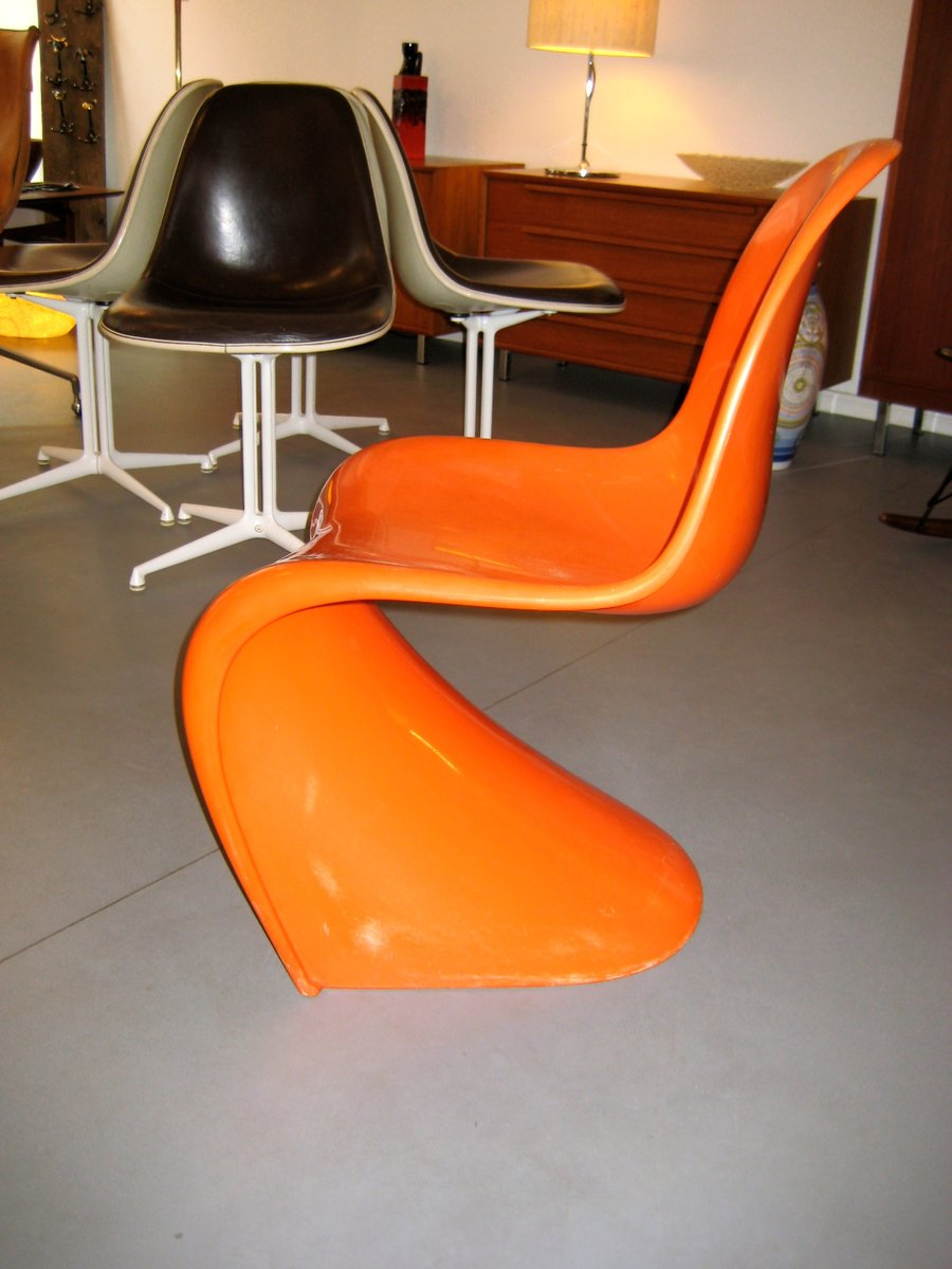 Panton Stühle panton chair by verner panton for fehlbaum 1960s for sale at pamono