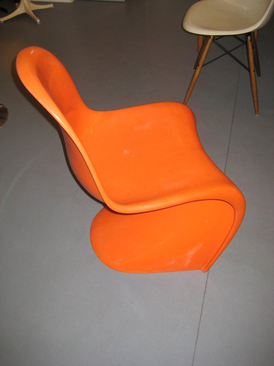 Panton Stuhl Original panton chair by verner panton for fehlbaum 1960s for sale at pamono
