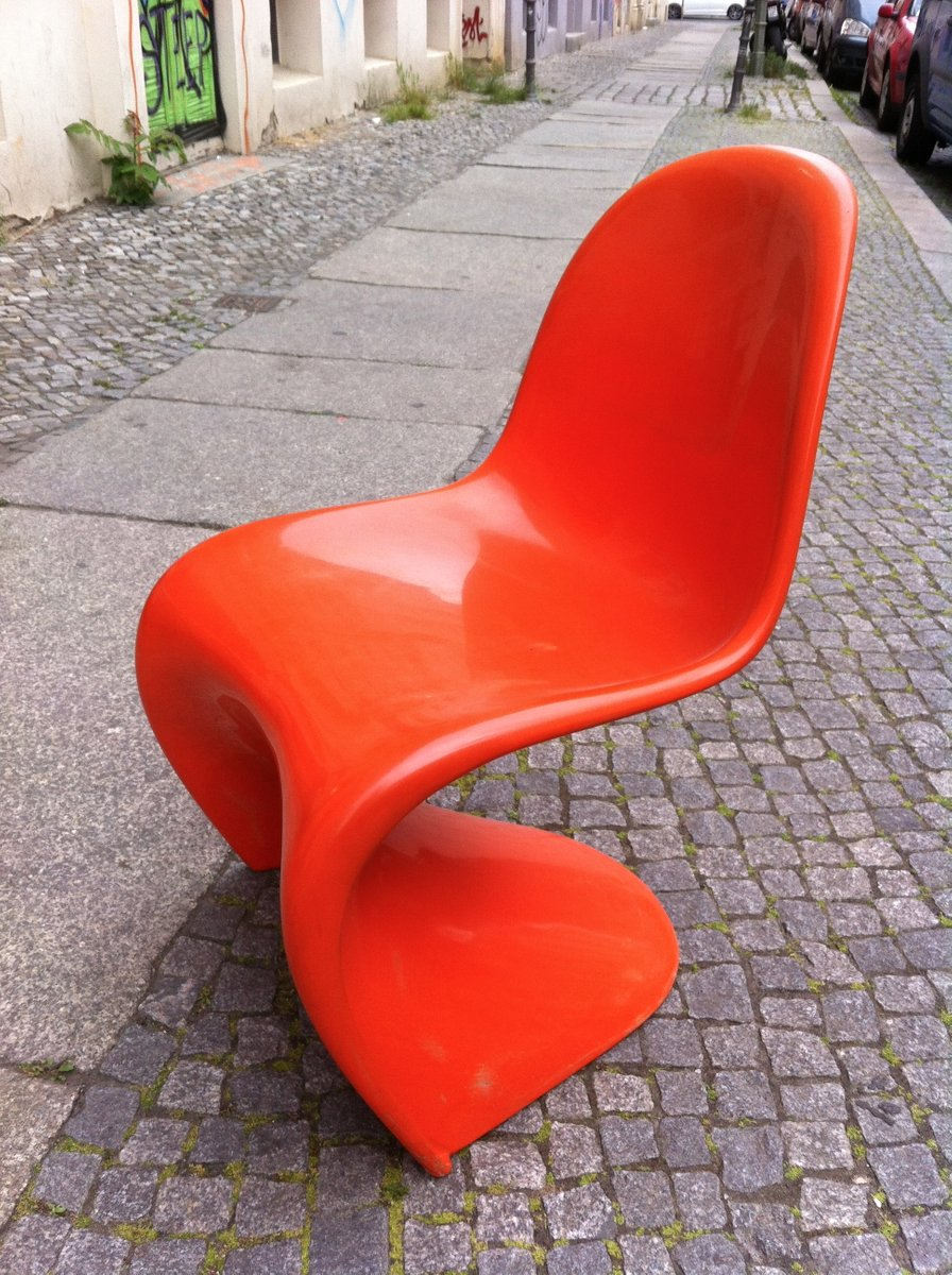 Panton Chair panton chair by verner panton for fehlbaum 1960s for sale at pamono