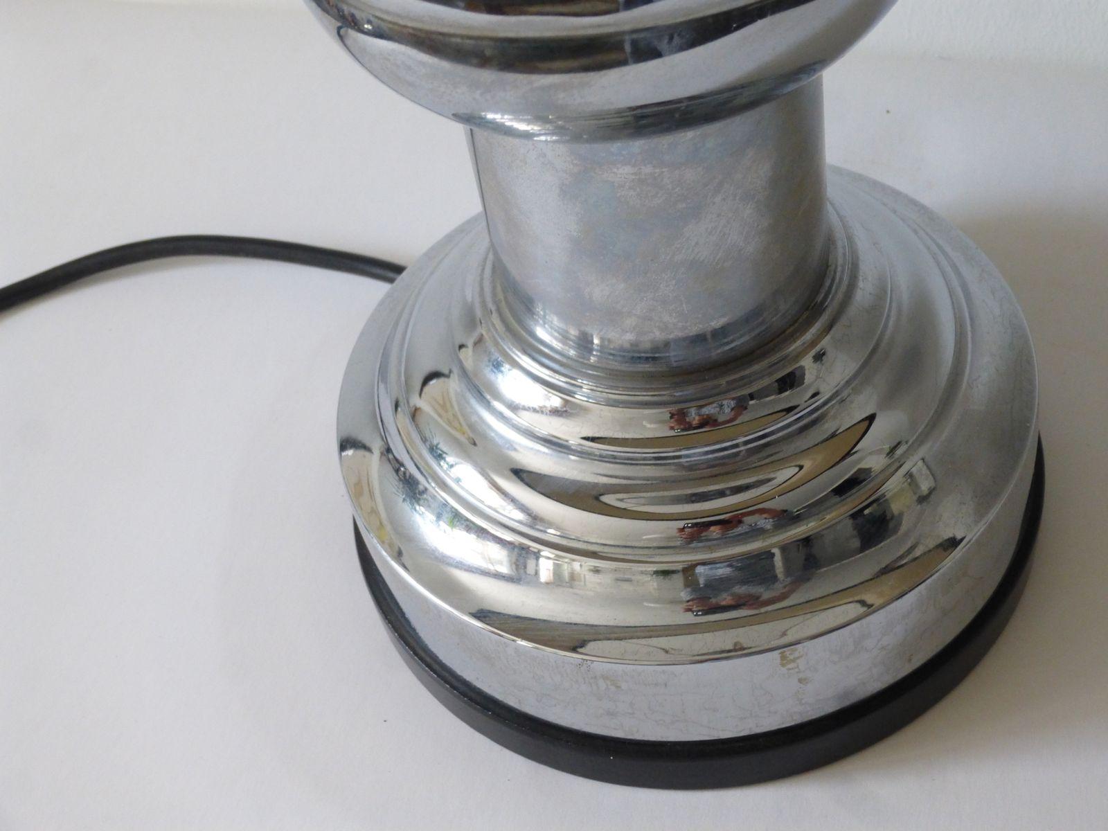 schwere tischlampe im art deco stil von zenith bei pamono kaufen. Black Bedroom Furniture Sets. Home Design Ideas