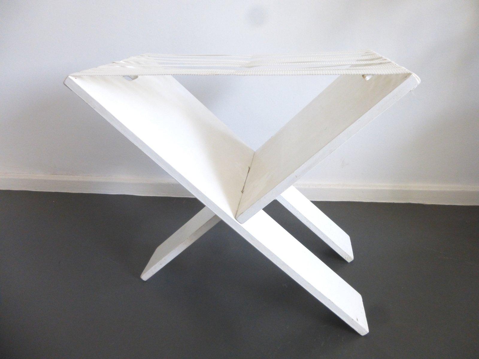 Vintage Bauhaus Folding Stool For Sale At Pamono