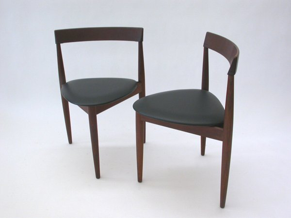Compact Dining Chairs By Hans Olsen For Frem Rojle, Set Of 4