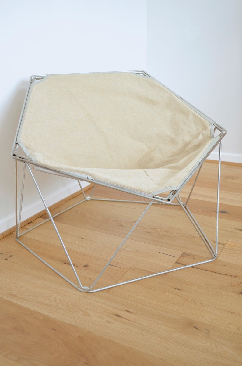 wei er penta sessel von jean paul barry kim moltzer f r wilhelm bofinger 1960er bei pamono kaufen. Black Bedroom Furniture Sets. Home Design Ideas