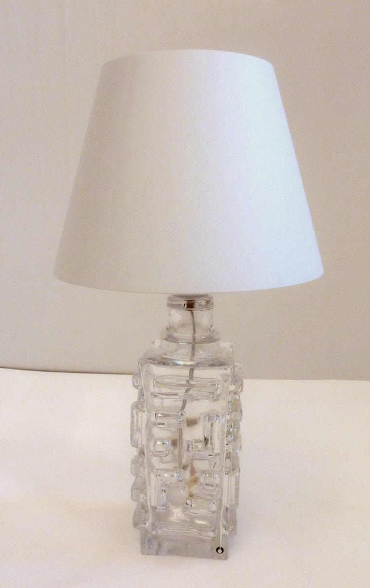 Vintage glass table lamps table designs swedish glass table lamp by pukeberg for at pamono mozeypictures Choice Image