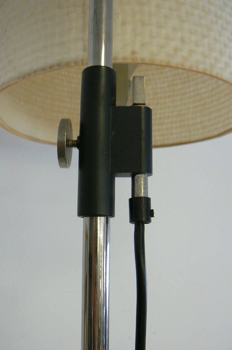 stehlampe mit verstellbarem lampenschirm von hillebrand 1960er bei pamono kaufen. Black Bedroom Furniture Sets. Home Design Ideas