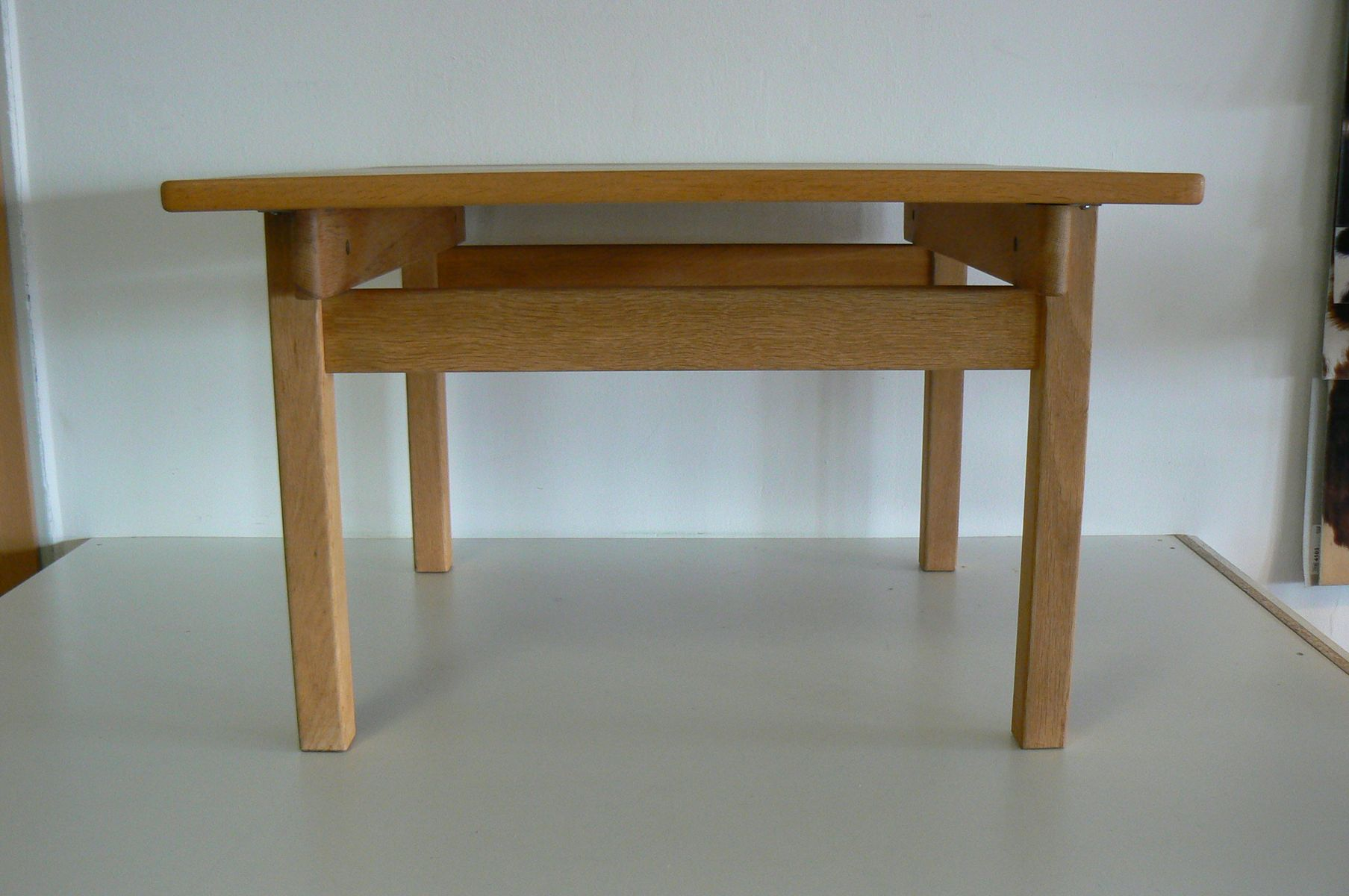 Oak square dining table by kurt ostervig for kp mbler 1965 for price 133000 regular price 141600 watchthetrailerfo
