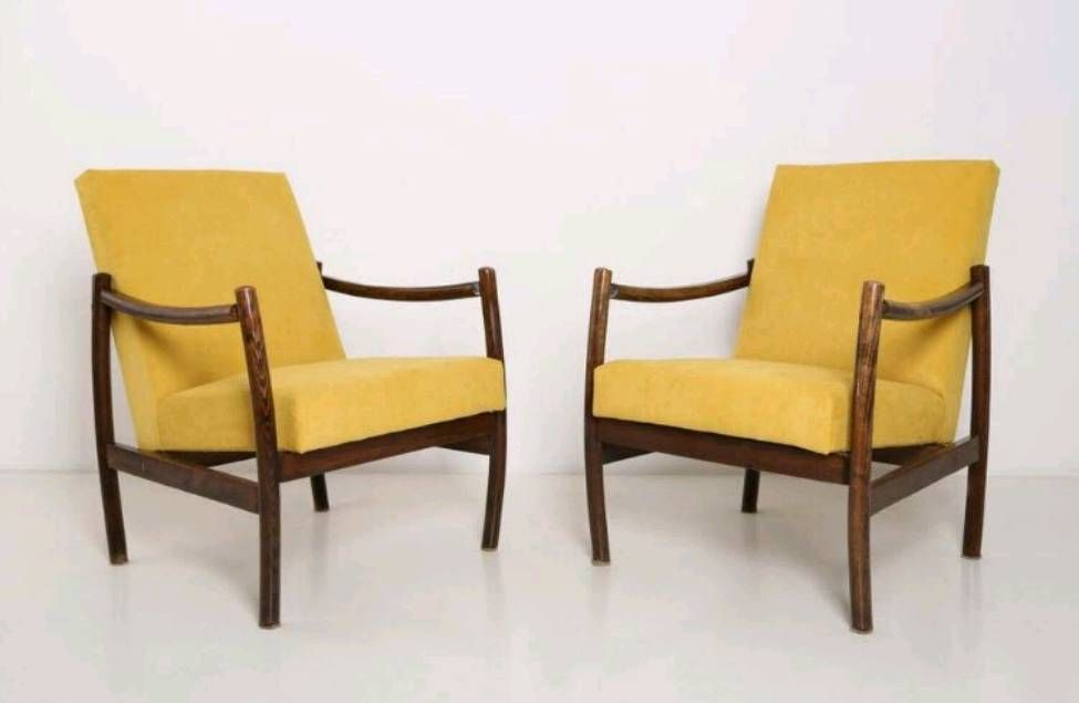 Mid century scandinavian armchairs set of 2 for sale at for Poltrone scandinave