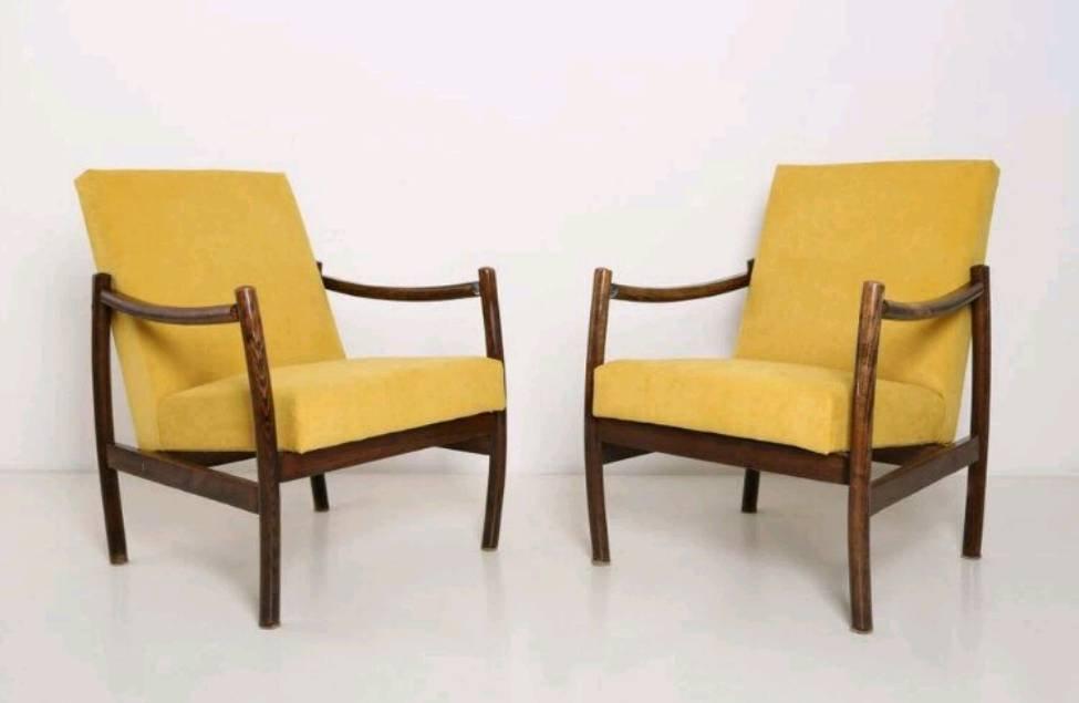 skandinavische mid century sessel 2er set bei pamono kaufen. Black Bedroom Furniture Sets. Home Design Ideas
