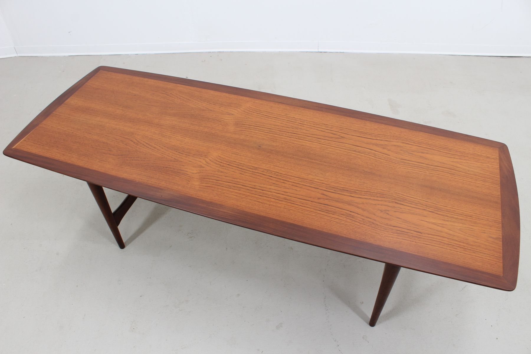 vintage large danish teak coffee table from ilse m bel for. Black Bedroom Furniture Sets. Home Design Ideas