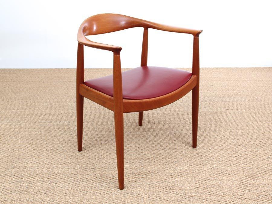 Scandinavian The Chair Armchair By Hans J Wegner For Johannes Hansen