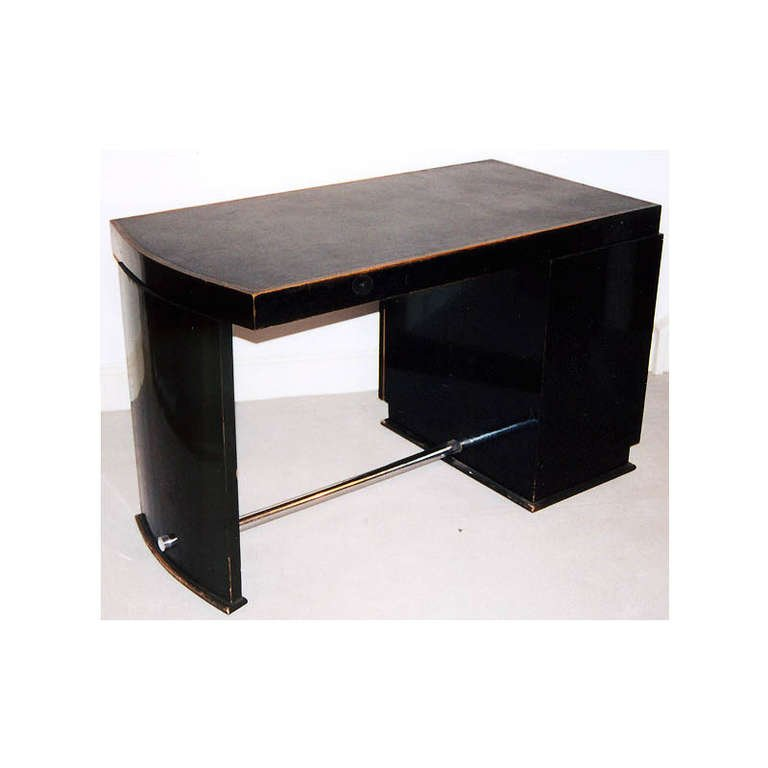 bureau art d co vintage de jacques adne france 1930s en vente sur pamono. Black Bedroom Furniture Sets. Home Design Ideas