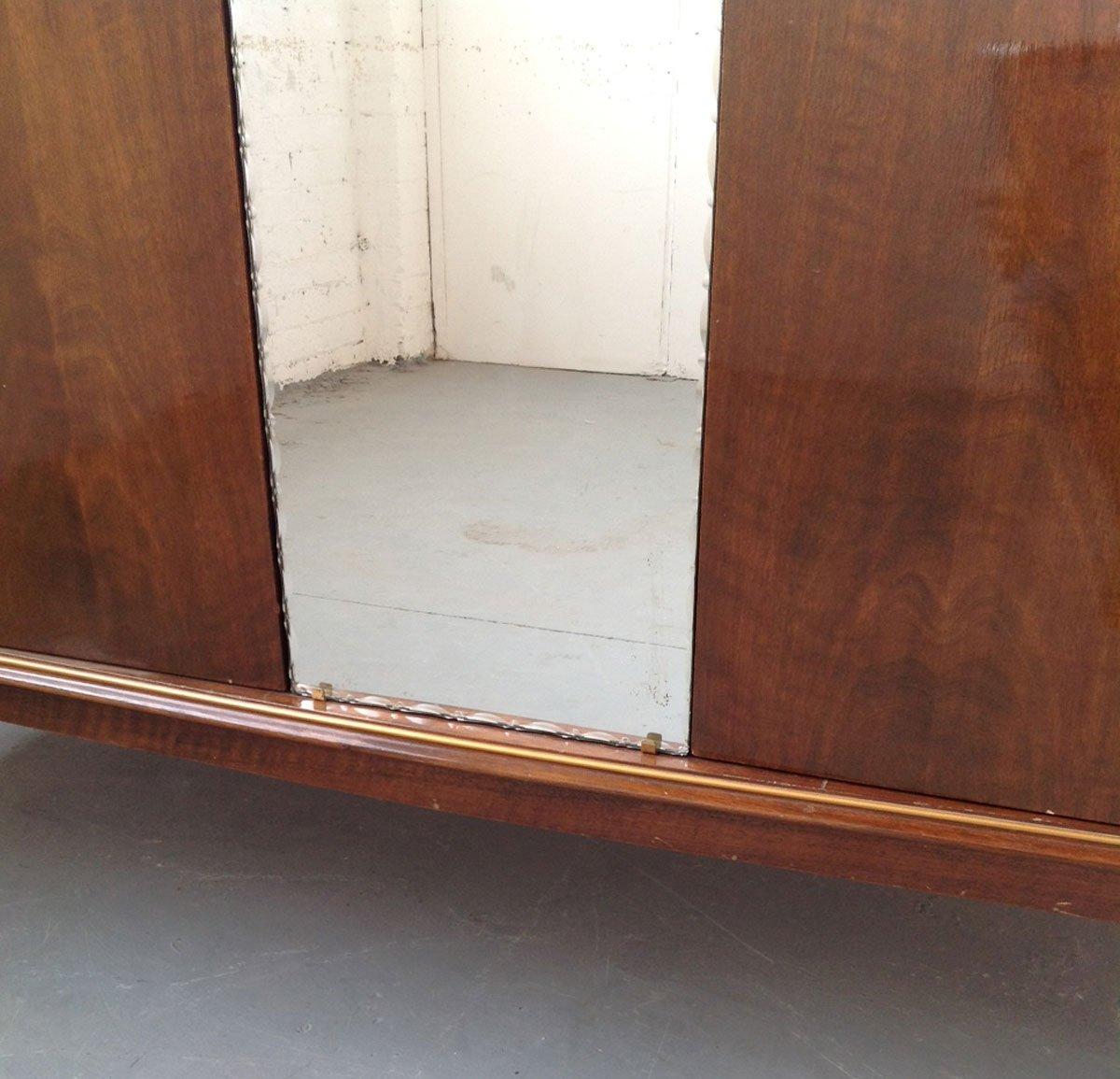 Armoire Art D 233 Co En Noyer France 1930s En Vente Sur Pamono