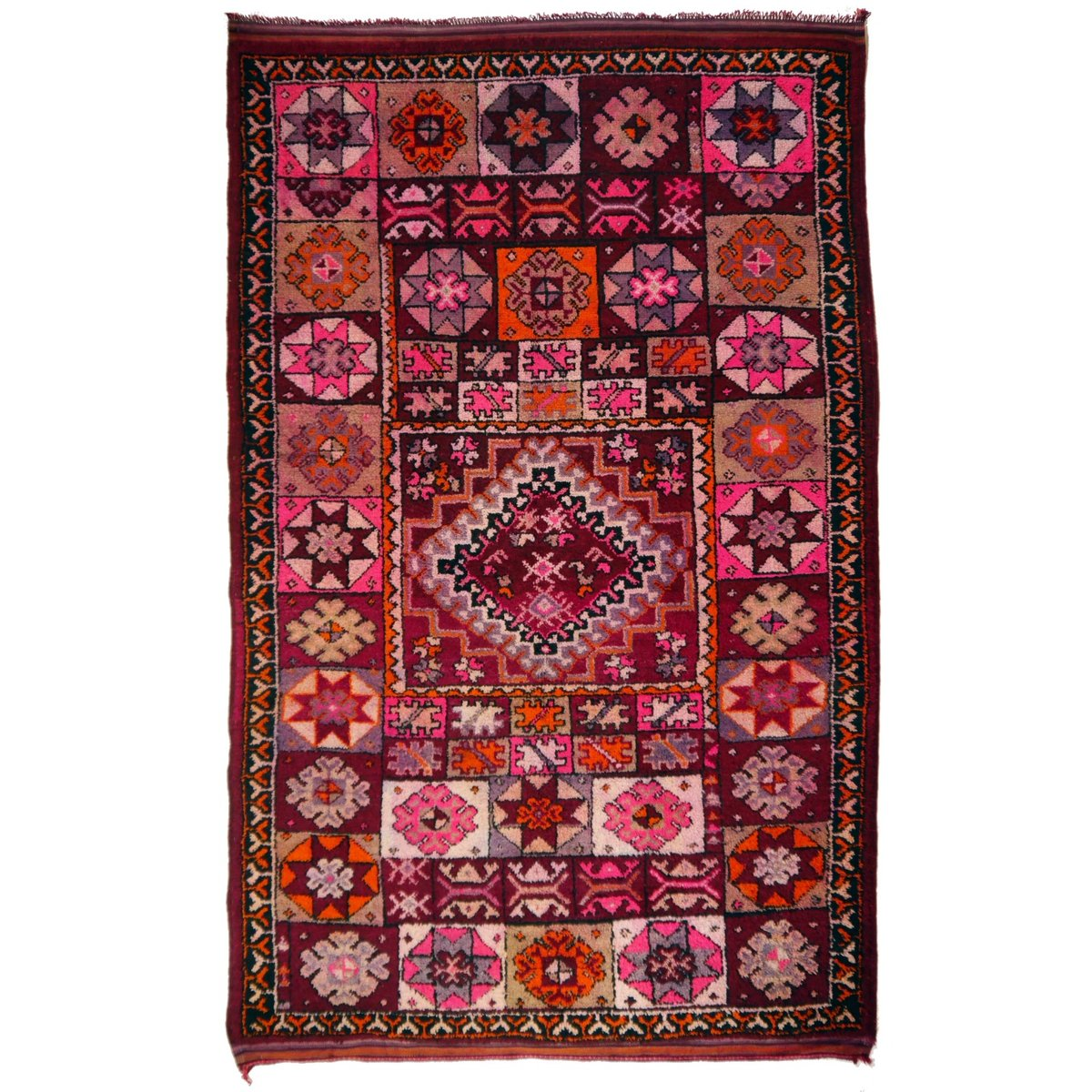 Vintage Moroccan Rabat Berber Rug For Sale At Pamono
