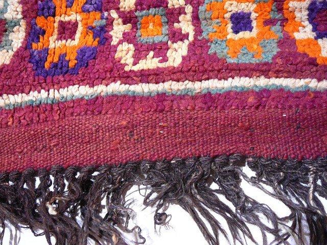 marokkanischer boujad berber teppich bei pamono kaufen. Black Bedroom Furniture Sets. Home Design Ideas