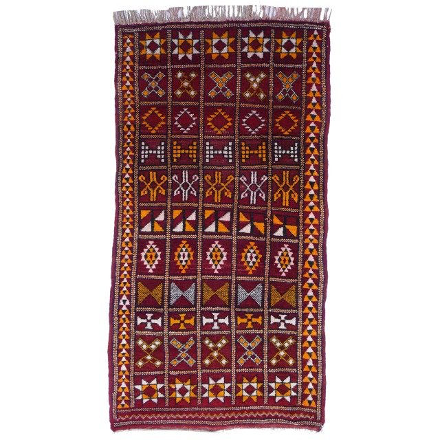 Vintage Moroccan Zemmour Berber Rug For Sale At Pamono