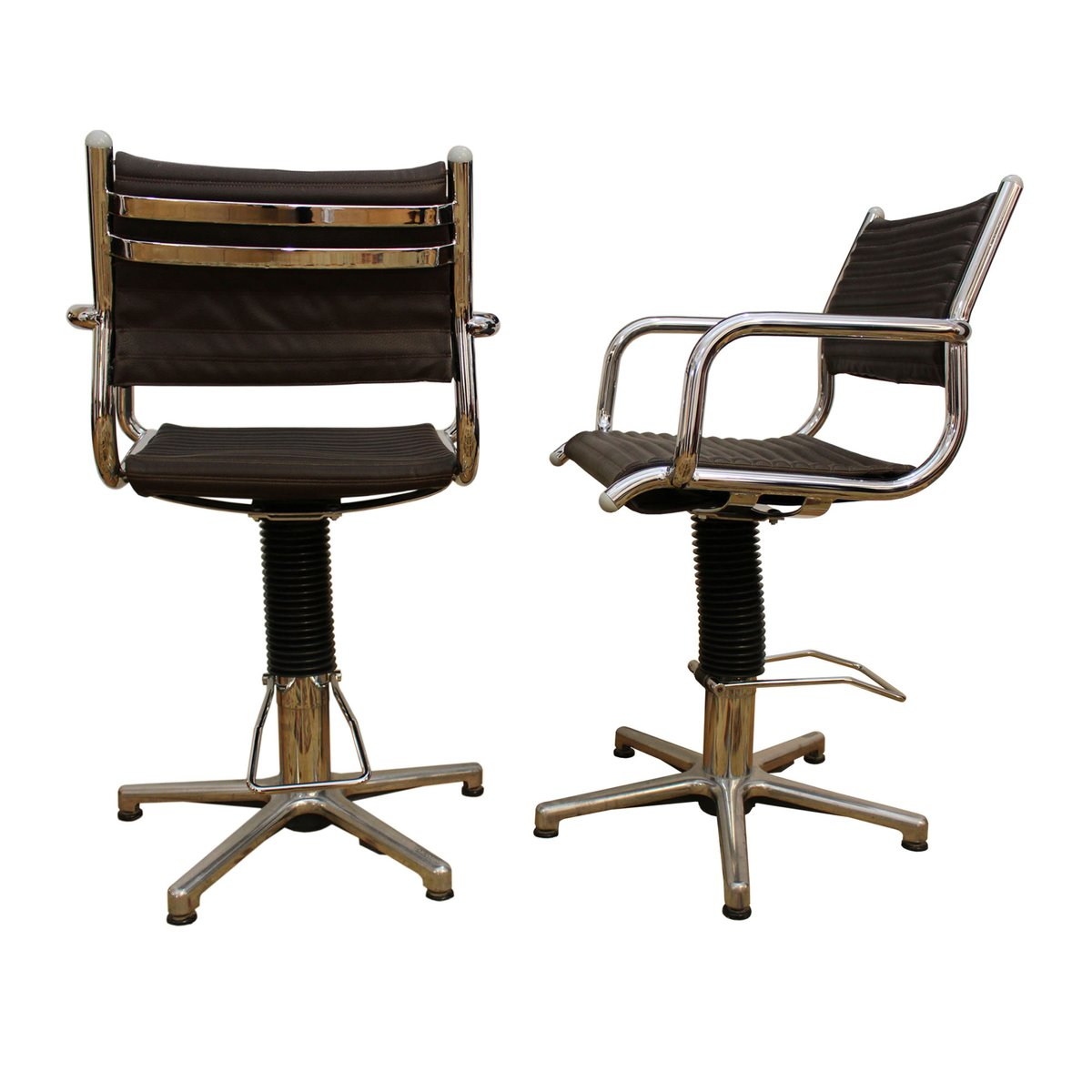 swivel chairs from olymp 1970s set of 2 for sale at pamono. Black Bedroom Furniture Sets. Home Design Ideas
