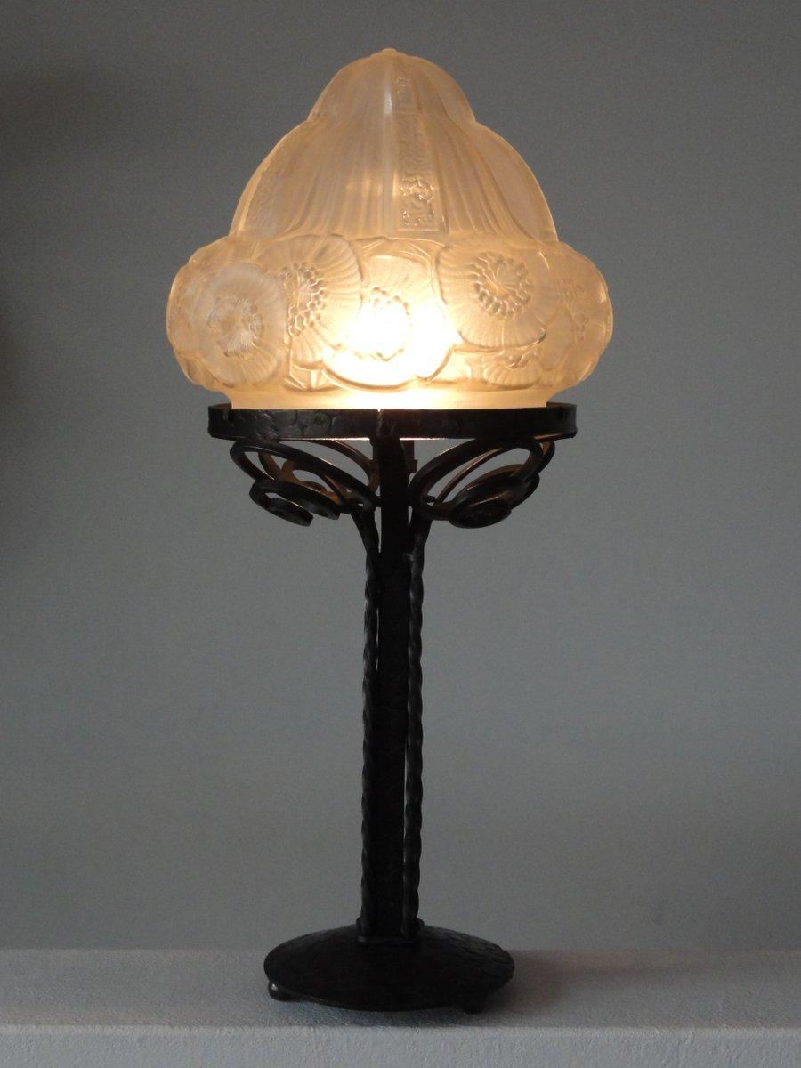 lampe de bureau art d co france 1920s en vente sur pamono. Black Bedroom Furniture Sets. Home Design Ideas