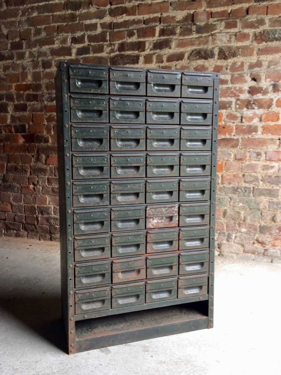 industrial metal cabinet industrial steel cabinet with 36 drawers for at pamono 17835
