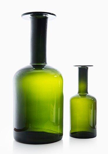 Vasen von otto brauer f r holmegaard 2er set bei pamono for Otto vasen