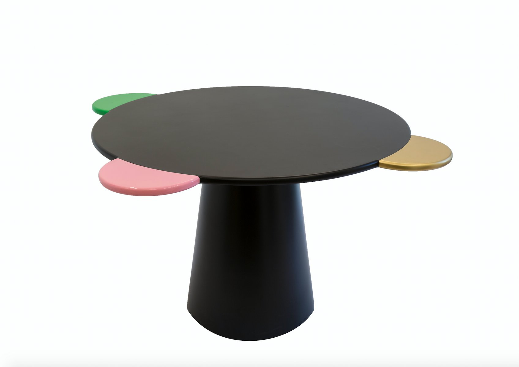 schwarzer donald tisch von chapel petrassi bei pamono kaufen. Black Bedroom Furniture Sets. Home Design Ideas