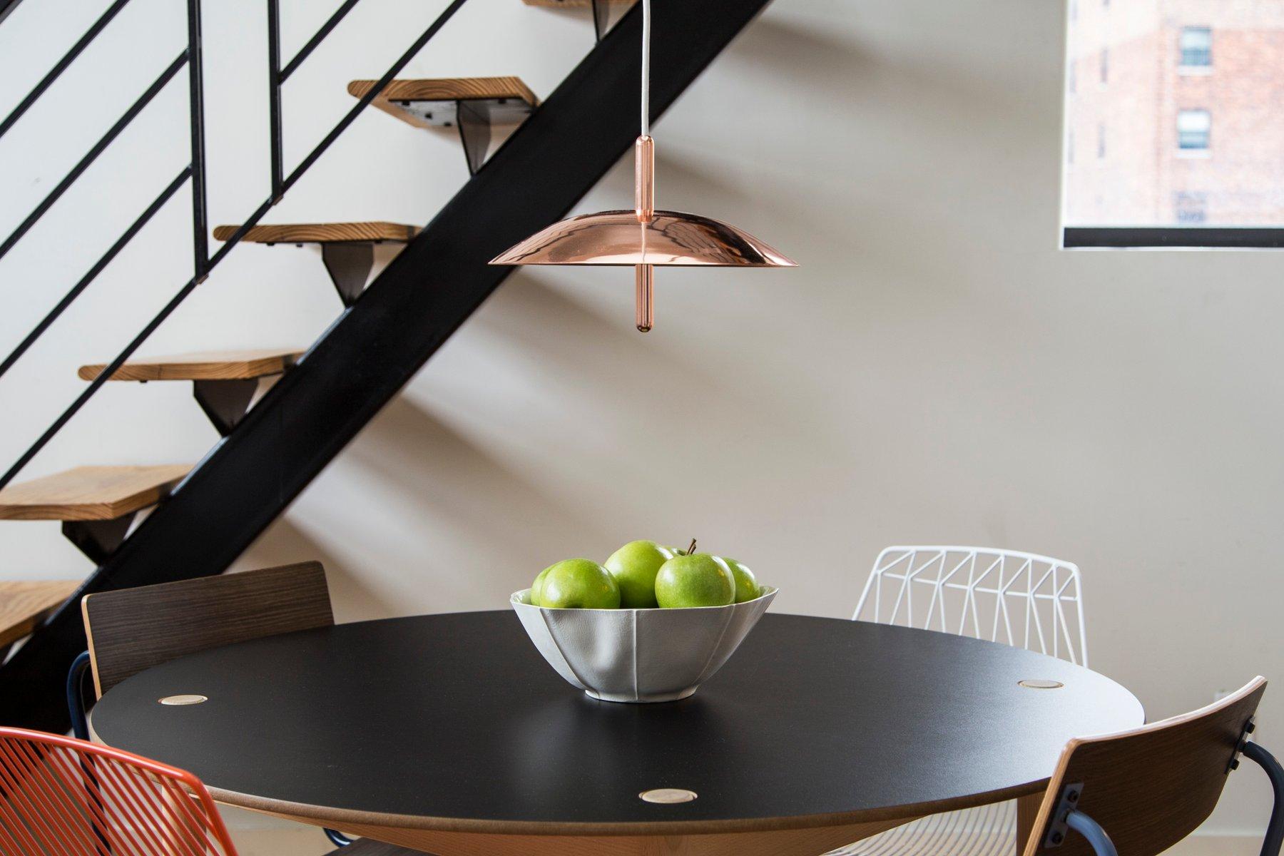 signal h ngelampe aus kupfer von shaun kasperbauer f r. Black Bedroom Furniture Sets. Home Design Ideas