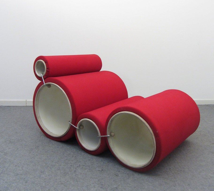 tube chair by joe colombo for flexform 1969 for sale at