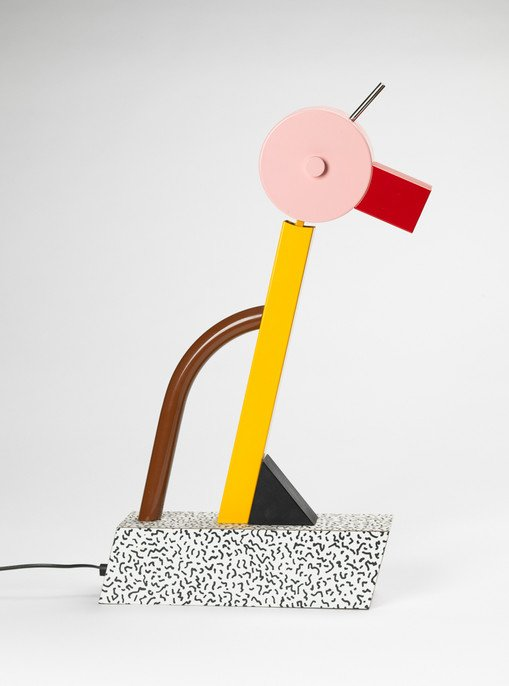 Tahiti lamp by ettore sottsass for the memphis group for Memphis sottsass