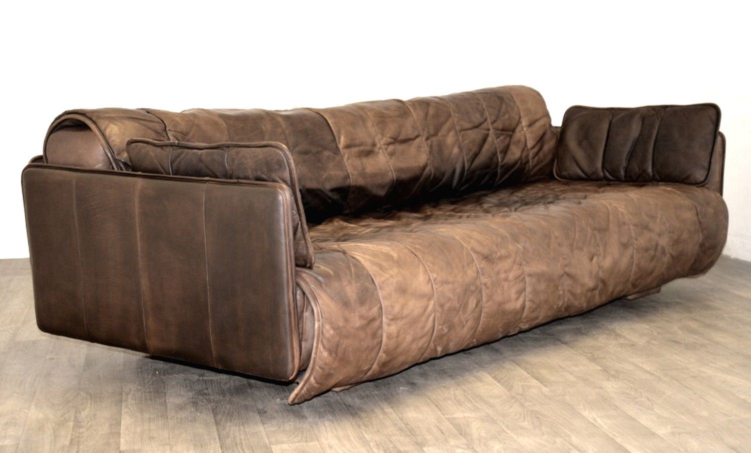 schweizer vintage leder schlafsofa von de sede 1970er bei pamono kaufen. Black Bedroom Furniture Sets. Home Design Ideas