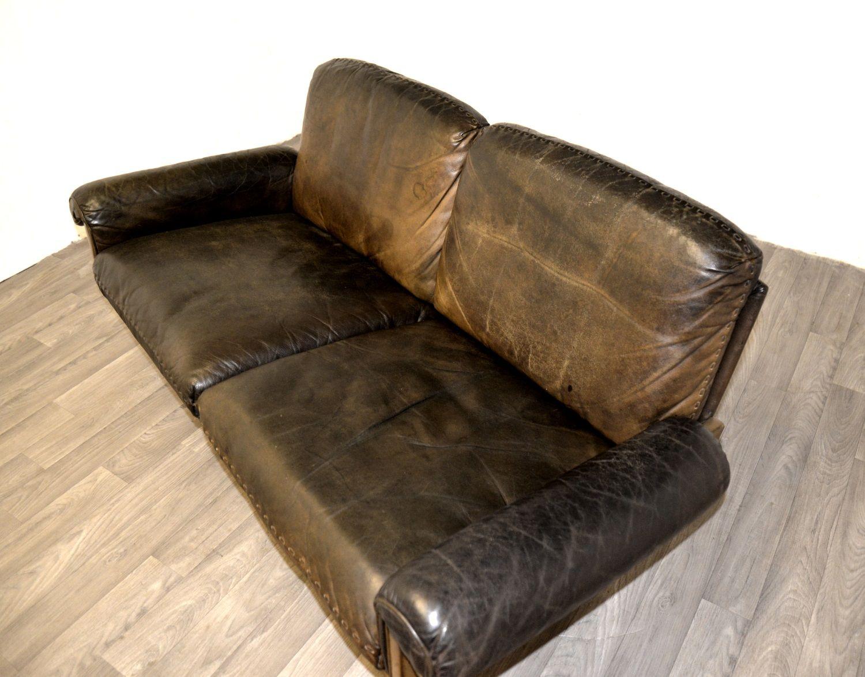 schweizer vintage ds 31 zwei sitzer sofa von de sede bei. Black Bedroom Furniture Sets. Home Design Ideas