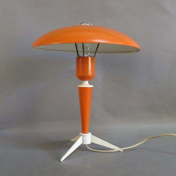 lampe de bureau par louis kalff pour philipps 1950s en vente sur pamono. Black Bedroom Furniture Sets. Home Design Ideas