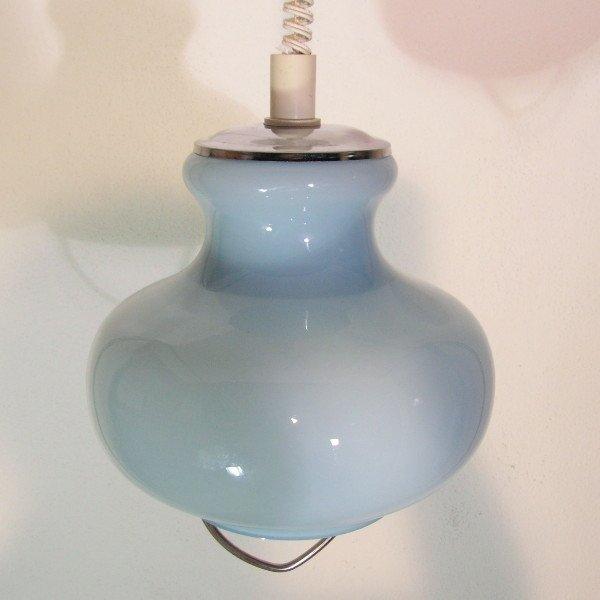 italienische deckenlampe aus glas von murano 1970er bei. Black Bedroom Furniture Sets. Home Design Ideas