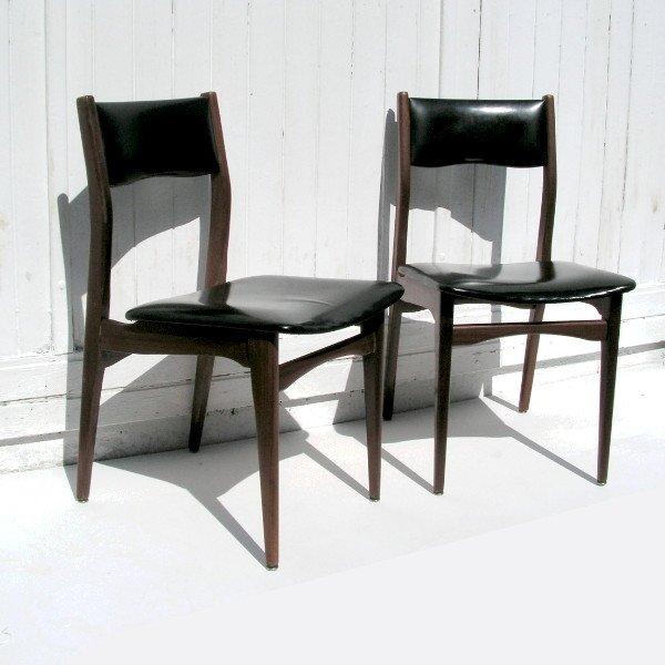 Vintage Stühle skandinavische vintage stühle 1950er 2er set bei pamono kaufen