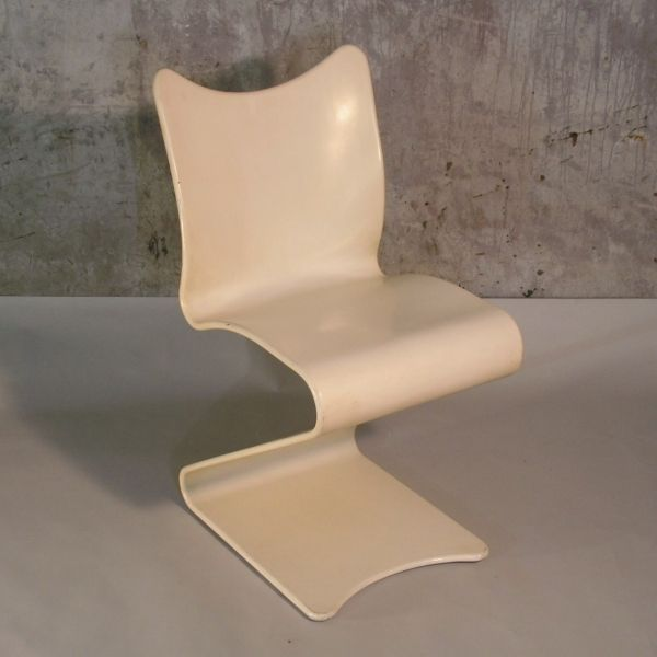 no 275 s chair by verner panton for thonet 1965 for sale at pamono. Black Bedroom Furniture Sets. Home Design Ideas