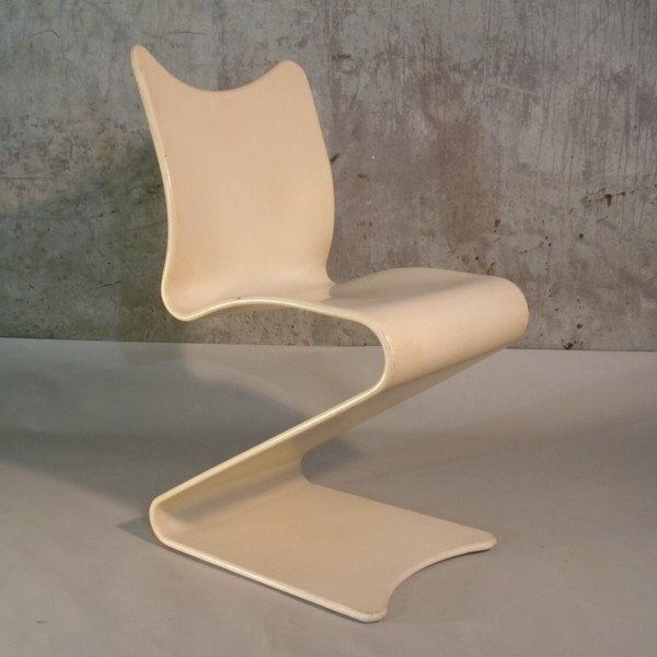 275 S Chair By Verner Panton For Thonet, 1965 For Sale At Pamono