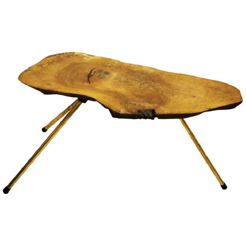 table d 39 appoint malle vintage en noyer par carl aub ck en vente sur pamono. Black Bedroom Furniture Sets. Home Design Ideas