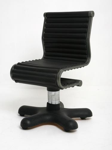 Sedia da ufficio nera 1980 in vendita su pamono for Sedia ufficio black friday